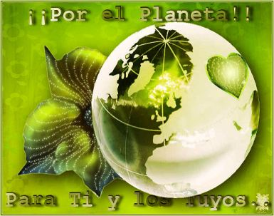 Por el Planeta Para Ti y los Tuyos1